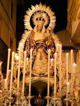 Modificado el itinerario de la procesión de Ntra. Sra. del Rosario de la Hermandad de Las Siete Palabras