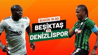 Beşiktaş Denizlispor Maçı justin tv izle