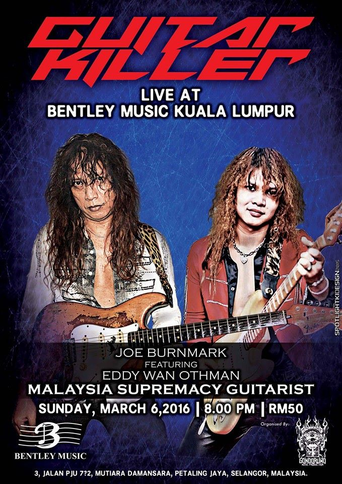Event Joe Burnmark & Eddy Wan - Live Guitar Killer | 6 March 2016
