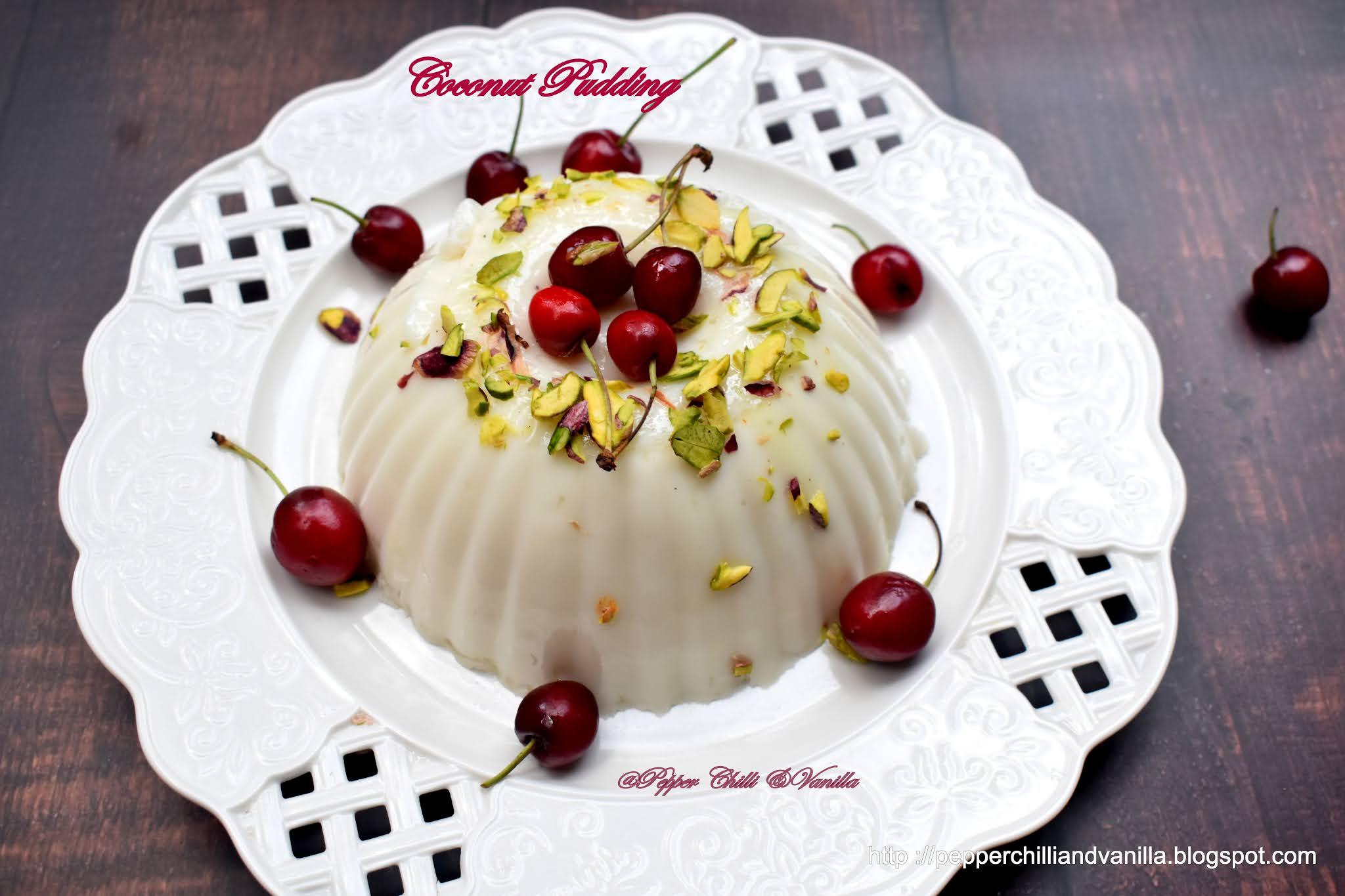 Coconut pudding recipe,elaneer pudding ,tender coconut pudding