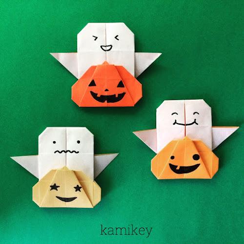 クリスマス 折り紙 ハロウィン 折り紙 : origamilabo.blogspot.com