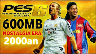 Download Game PES 6 PPSSPP Android Offline Original Best Graphics