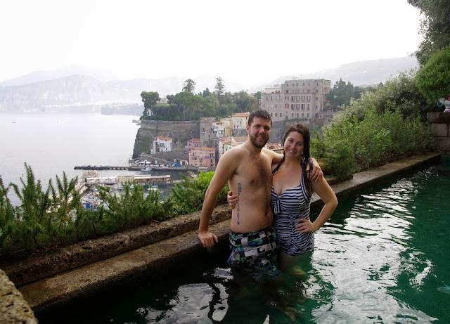 Swimming Pool Maison La Minervetta Sorrento Italy