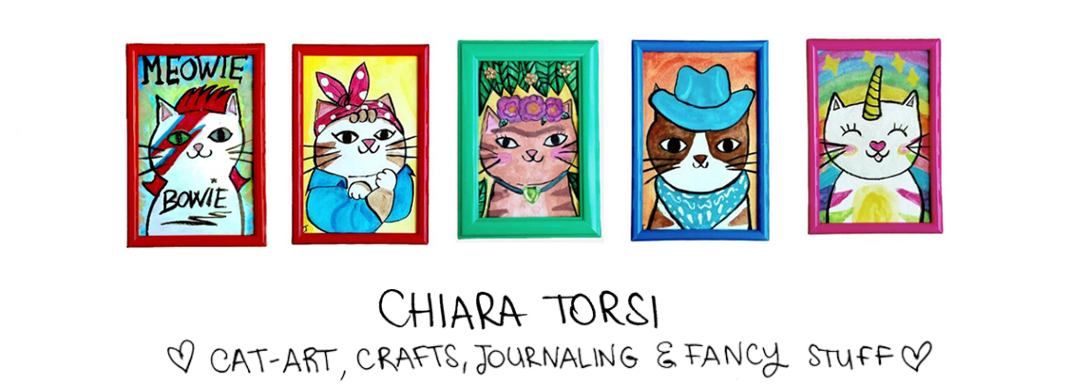 Chiara Torsi - Cat Portrait Project