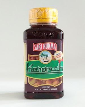 Sari Kurma Karomah Kurma Ajwa Isi 250 gram