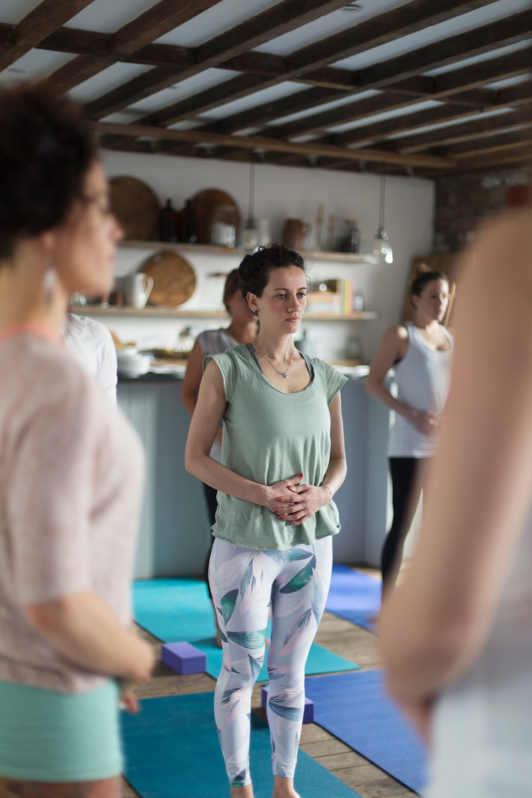 Yoga Brunch Club March 2018 Kasia Kiliszek Murray May's food drink Bristol The Forge