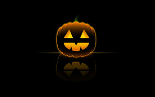 Happy Halloween Desktop Wallpapers Scary HD black background