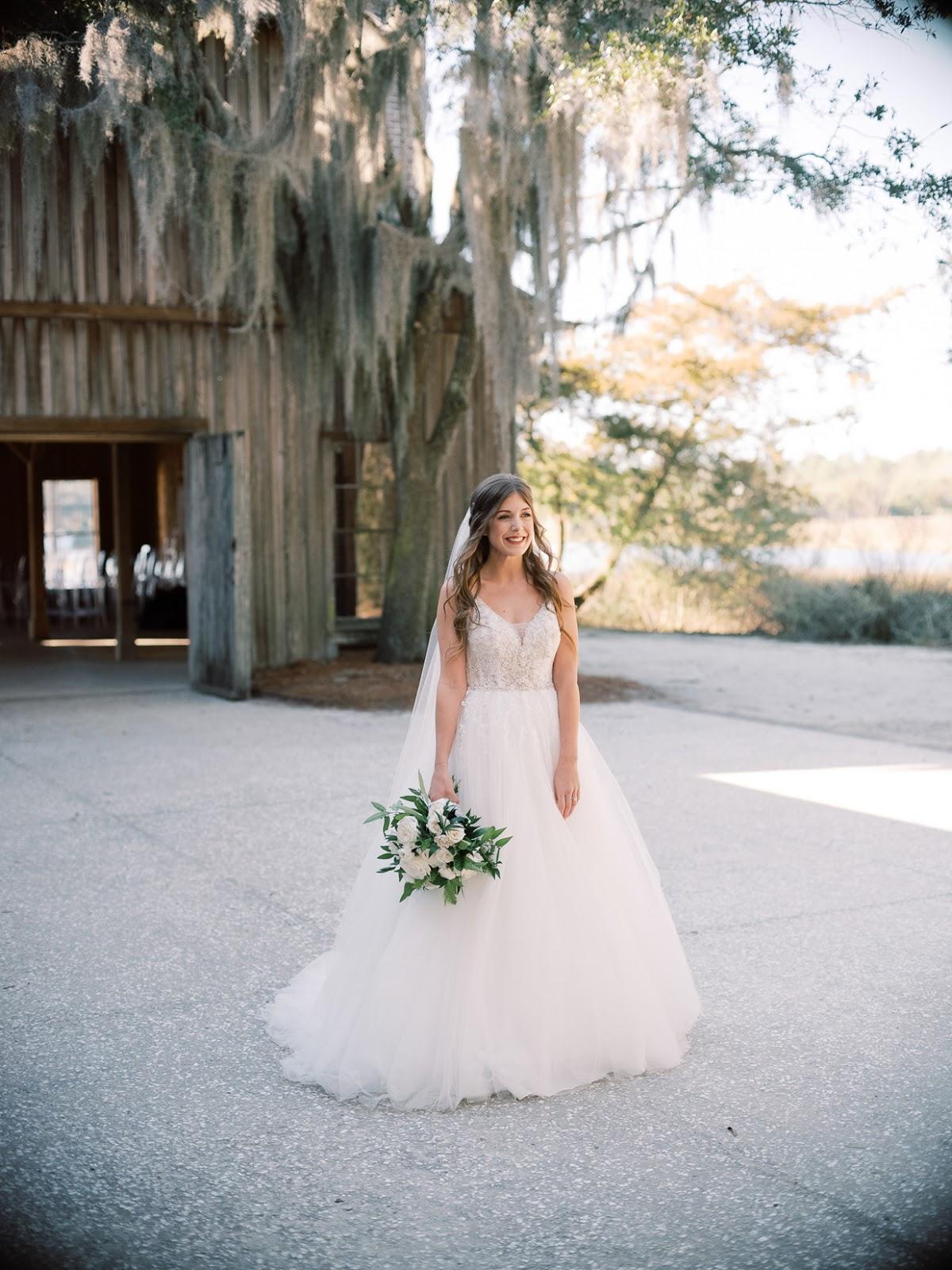 Bridal Portraits at Boone Hall Plantation - Chasing Cinderella
