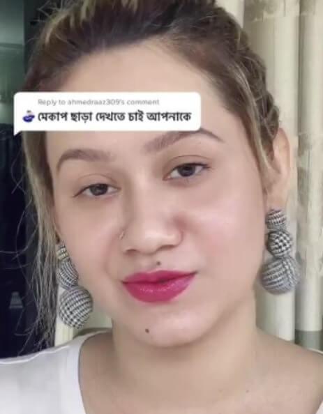 Eva Rahman on tiktok