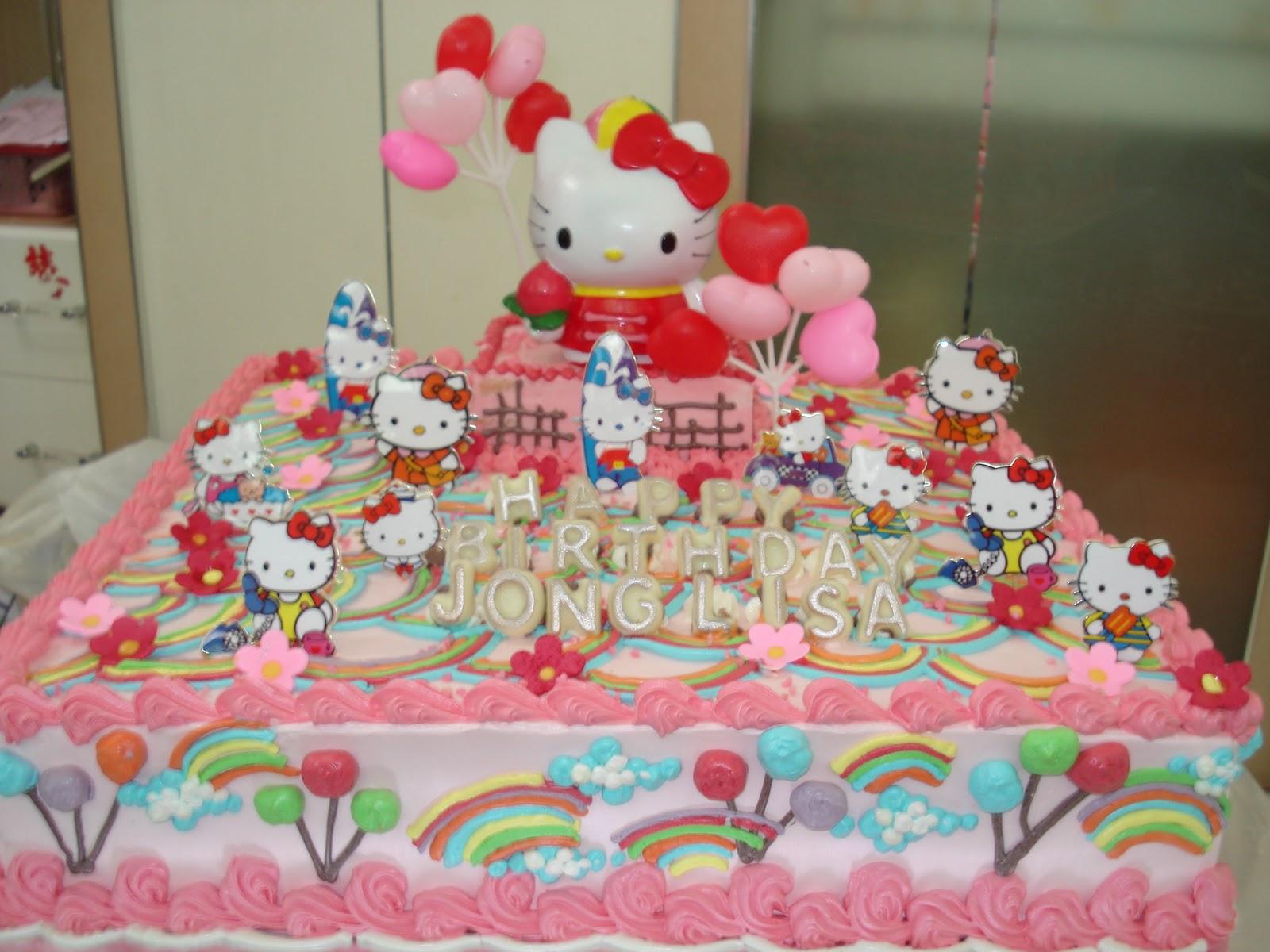 Annette S Cake Hello Kitty
