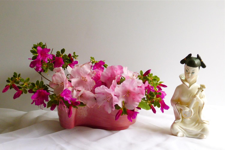 Haeger Potteries, Inc., Haeger pottery, vintage Haeger pottery, Haeger floral containers, Haeger planters, Haeger USA, vintage Haeger pink planter, Haeger 3770 pink planter