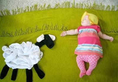 Bonita imagen de ropa de bebe