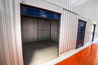 imagem de um container self storage