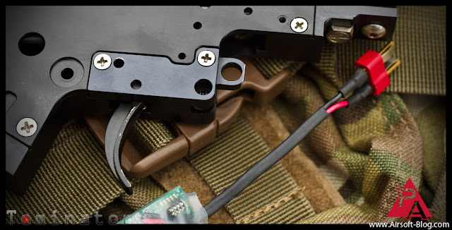 How to shorten the trigger pull on a polarstar fusion engine, polarstar fusion engine trigger mod, polarstar trigger mod tutorial, pyramyd airsoft blog, airsoft guns, pyramyd air, tom harris media, tominator,