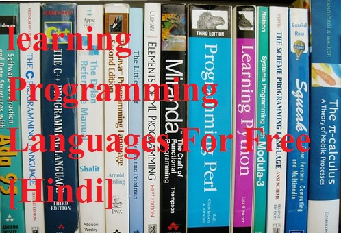 Top 6 Sites for learning Programming Languages For Free [Hindi]