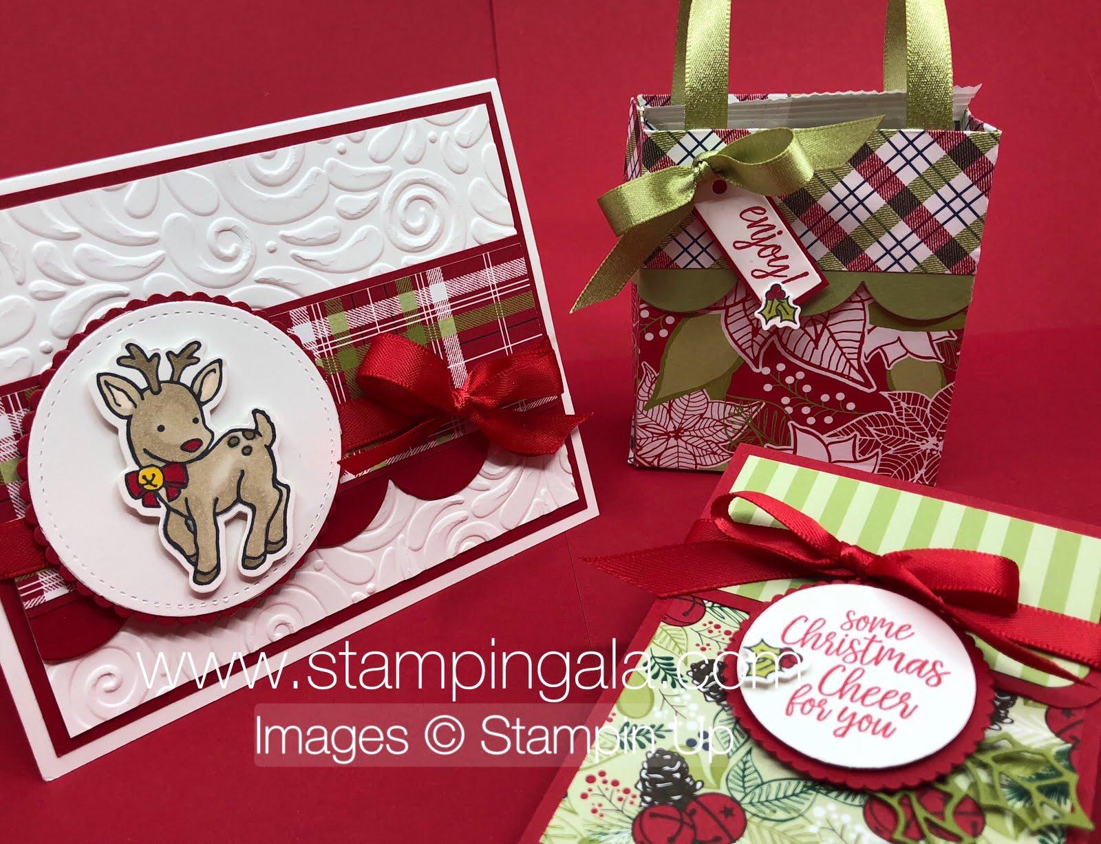 Under The Mistletoe Designer Series Paper Stampin Gala
