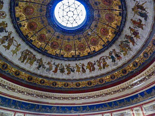 Sala Pompeiana, Teatro Massimo de Palermo, Sicília