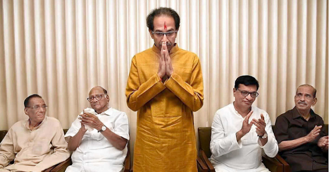 Uddhav claims to form the government.