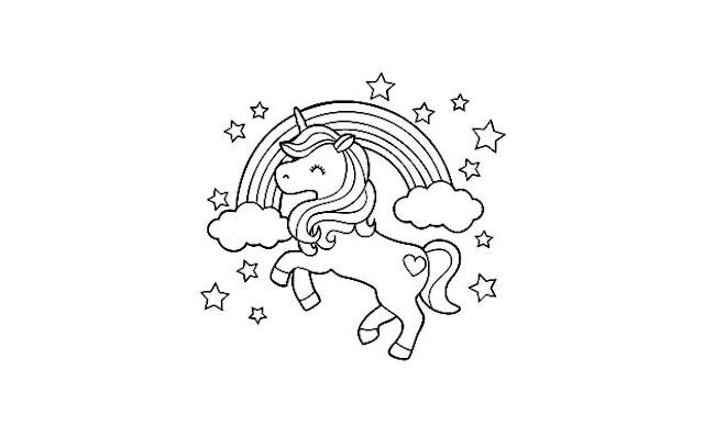 dibujar unicornios fáciles