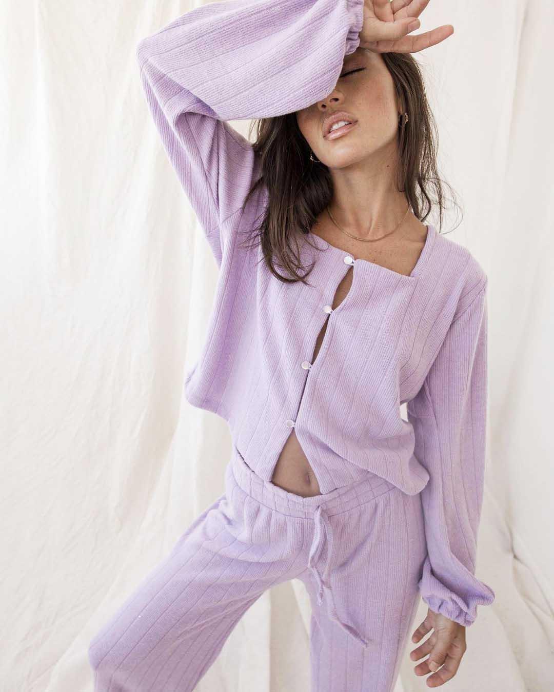 conjunto palzzo pantalon ancho invierno 2021 moda mujer