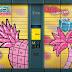 Art in Post moje propozycje na pomalowanie paczkomatów/Tropical Art style in delivers boxes