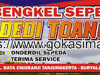Download Contoh Spanduk Bengkel Sepeda CDR