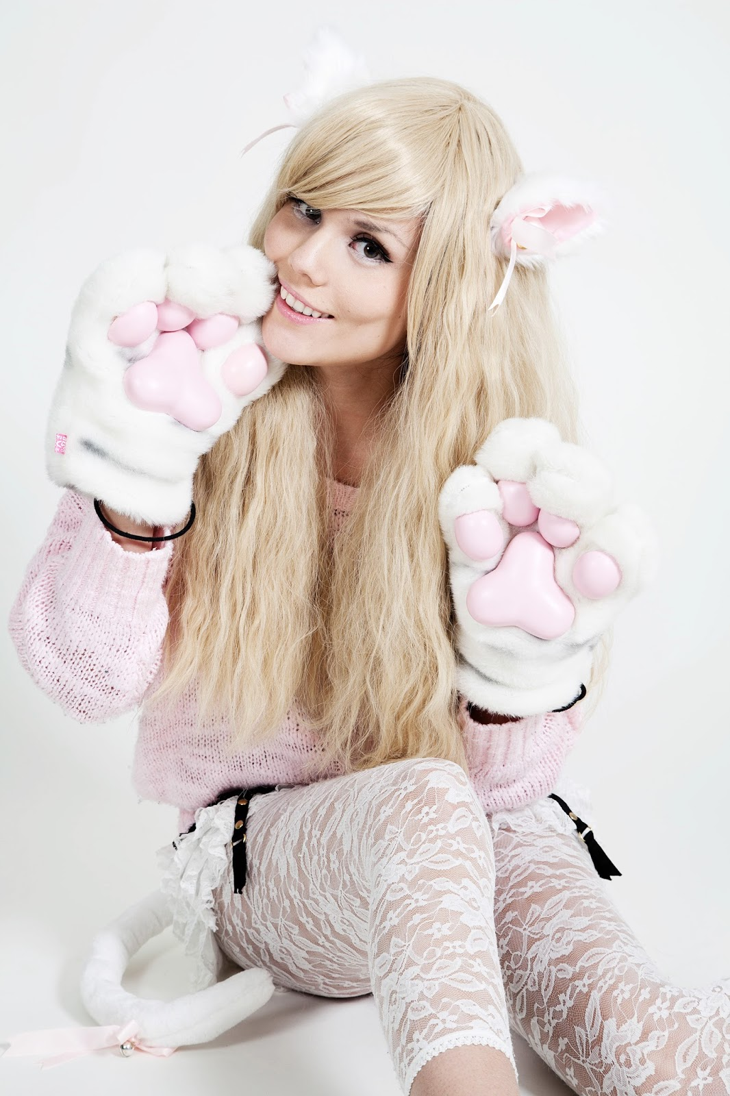 Neko Cosplay - Me with blonde hair |CandyAbuse