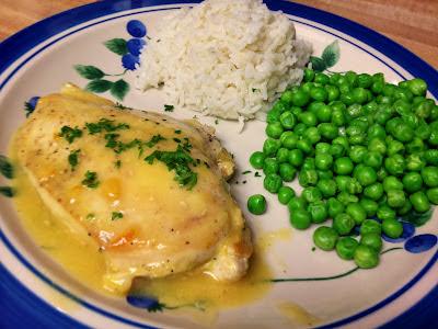 Sunday, dinner for two: Recipe: Quick Orange Glazed Chicken