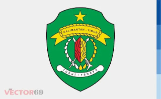 Logo Provinsi Kalimantan Timur (Kaltim) - Download Vector File EPS (Encapsulated PostScript)