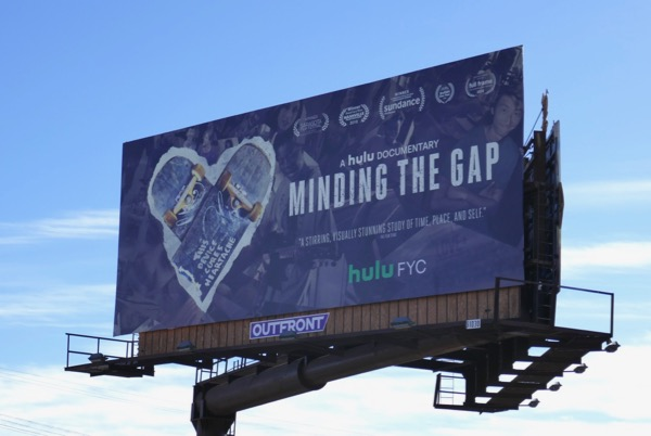 Minding the Gap Hulu FYC billboard