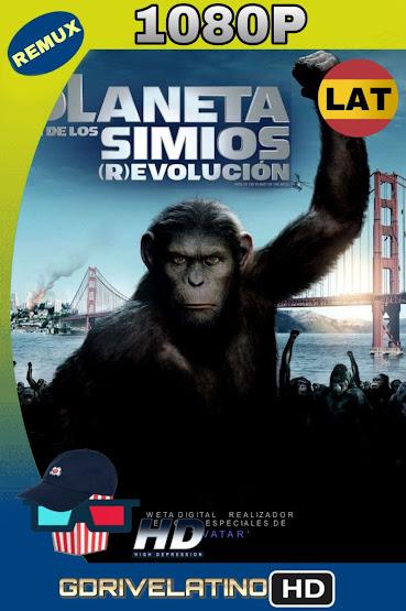 El Planeta de los Simios: (R)Evolución (2011) BDRemux 1080p Latino-Ingles MKV