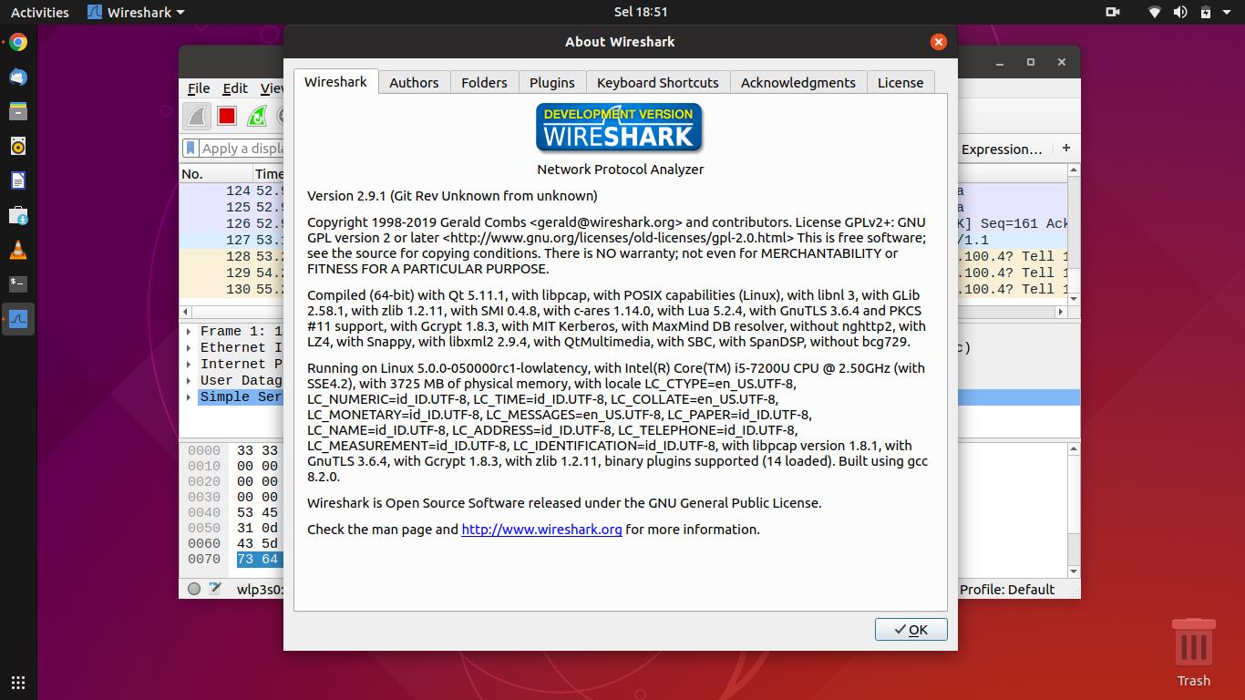wireshark offline installer ubuntu