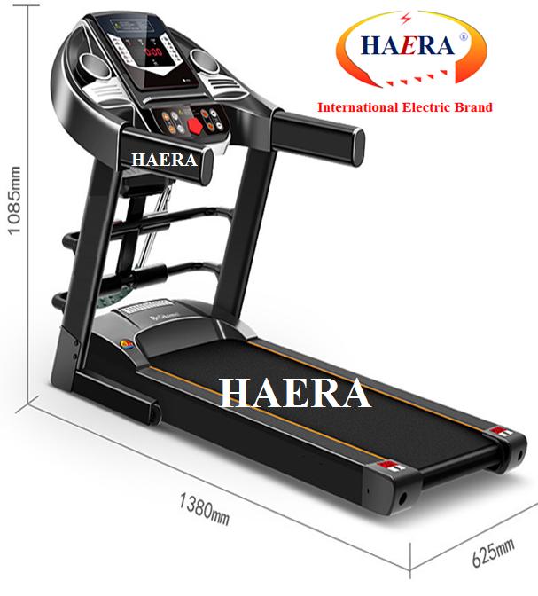 Máy chạy bộ tốt nhất đa năng Haera Thương hiệu số 1 thế giới