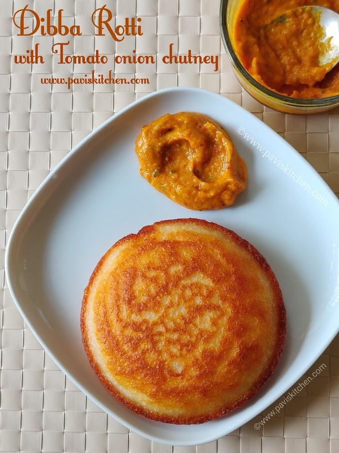 Dibba rotti recipe   Andhra minapa rotti recipe   pan Idli recipe with idli batter