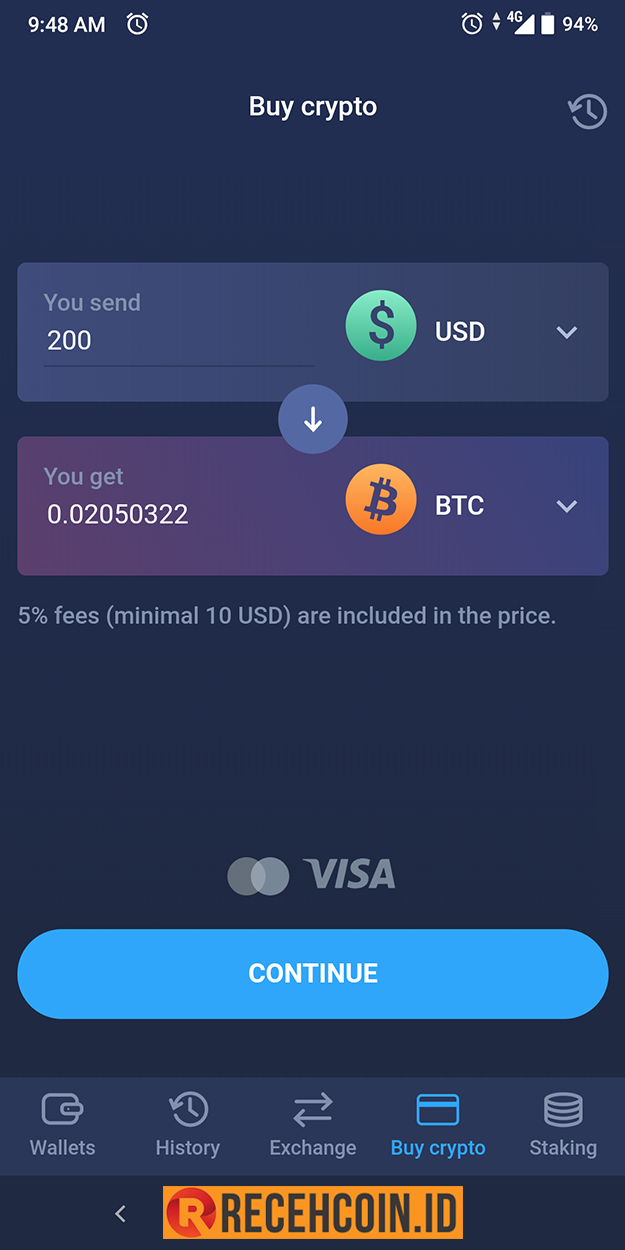 beli bitcoin pakai kartu kredit