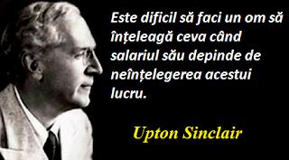 Maxima zilei: 20 septembrie -  Upton Sinclair