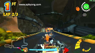 game Crash Tag Team Racing PS2 Iso