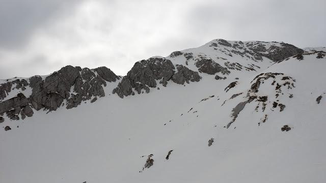 Cresta nord di punta Trento