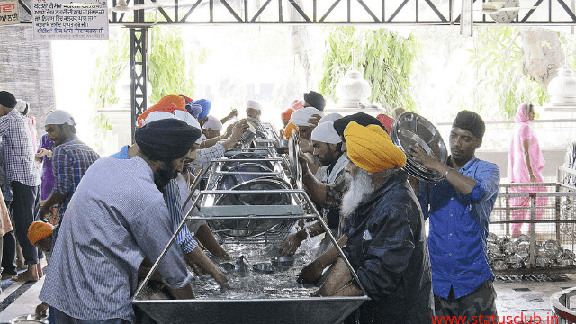 golden temple langar food