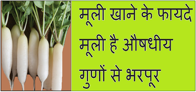 Benefits of eating radish in Hindi