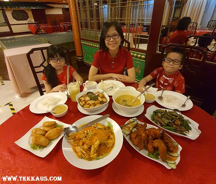 Dinner At Southern Court Chinese Restaurant of Bayview Hotel Melaka