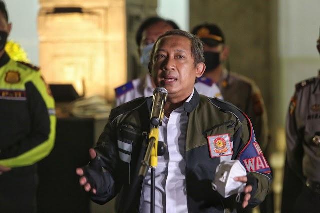 Cegah Covid-19 Gelombang II,  Pemkot Bandung Kembali Munutup Sejumlah Ruas Jalan