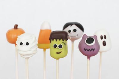 Monster Halloween cake pop ideas