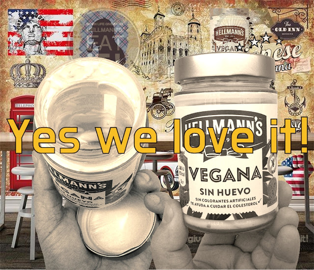 BIOVEGAN PORTUGAL ® NEW HELLMANN'S VEGAN MAYO - COLOR POSTER 1