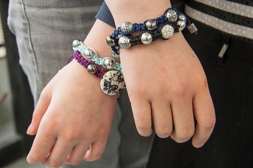 bracelets shambala de Mademoiselle et D
