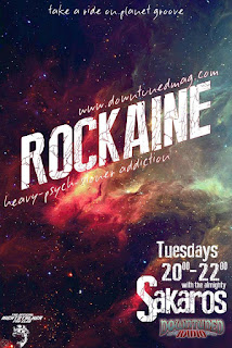 rockaine radio show, downtuned radio