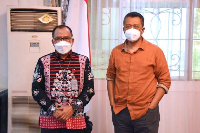Bang Zul terima kunjungan Kalan BPK perwakilan NTB