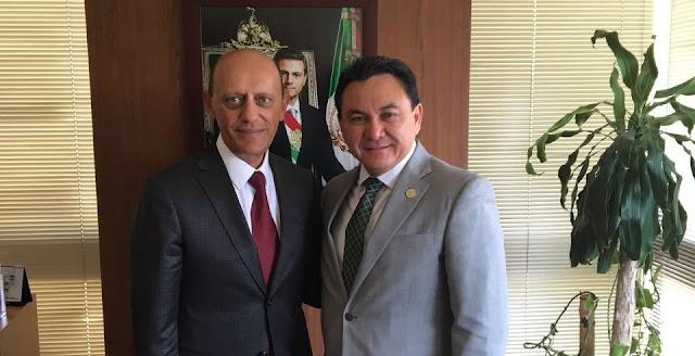 Liborio Vidal y Sedatu acuerdan acciones de vivienda para Yucatán