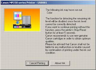 Cara Mengatasi Error Code E03 Dan E13 Mp258