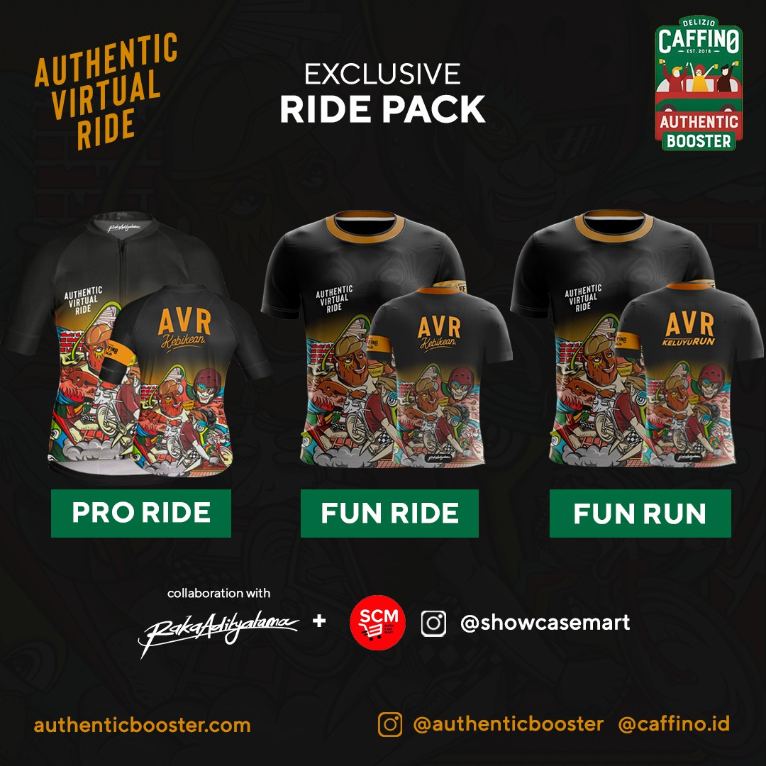 Jersey 👕 Authentic Virtual Race • 2021